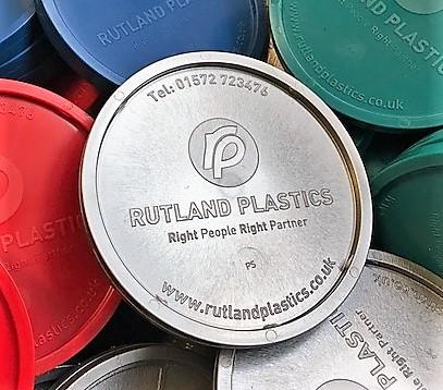 Metal effect plastic