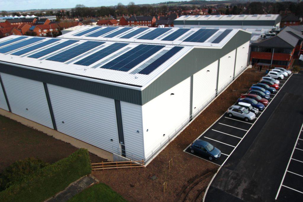 Rutland Plastics PV panels