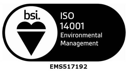Rutland Plastics ISO14001 logo
