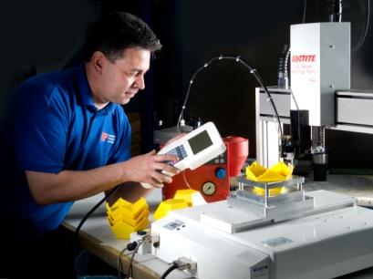 Rutland Plastics gluing machine
