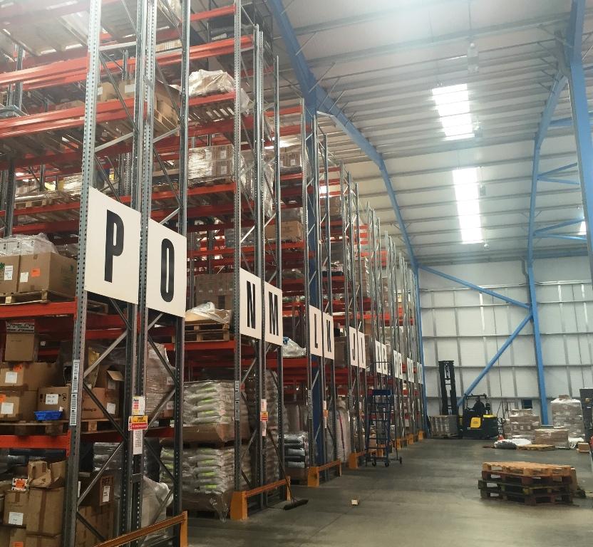 new warehouse interior