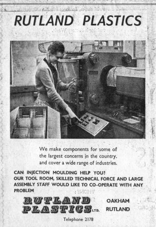 Rutland Plastics early ad