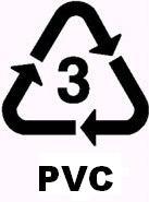 pvc recycle symbol