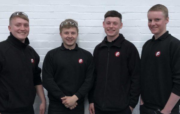 Rutland Plastics apprentices